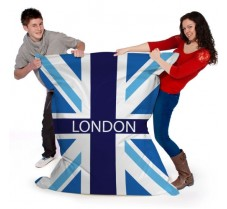 Personalised Union Jack Flag