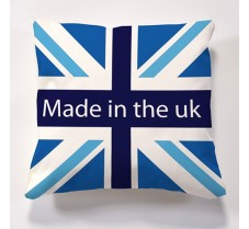 Blue Union Jack Cushion