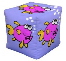 Fish Cube Pink