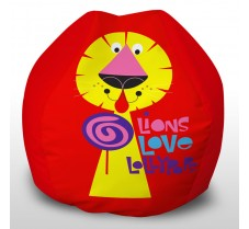 Lion Loves Lollies red