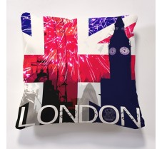 London Big Ben Cushion